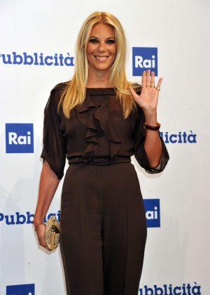 Eleonora Daniele - Rai Show Schedule Presentation in Rome