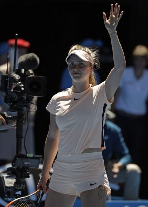 Elina Svitolina - 2018 Australian Open in Melbourne - Day 5