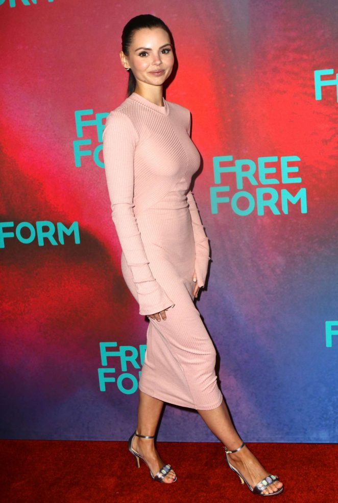 Eline Powell - 2017 Freeform Upfront in New York