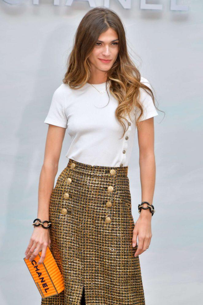 Elisa Sednaoui – Chanel Haute Couture Show 2019 in Paris