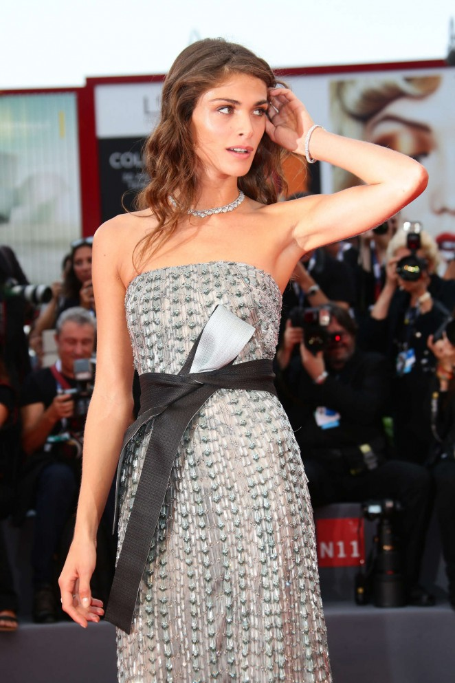 Elisa Sednaoui - Opening Ceremony and Premiere of 'Everest' at 72nd Venice Film Festival