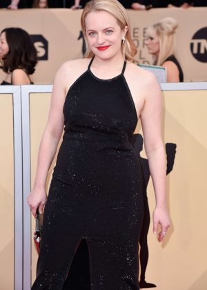 Elisabeth Moss - 2018 Screen Actors Guild Awards in Los Angeles