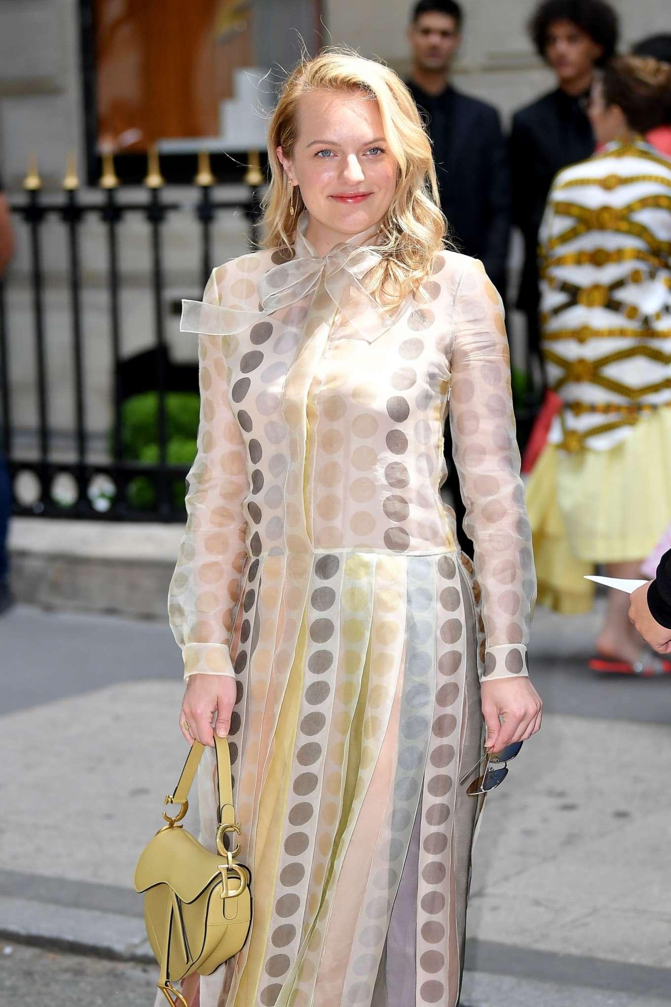 Elisabeth Moss - 2019 Paris Fashion Week - Christian Dior Haute Couture FW 2019/20