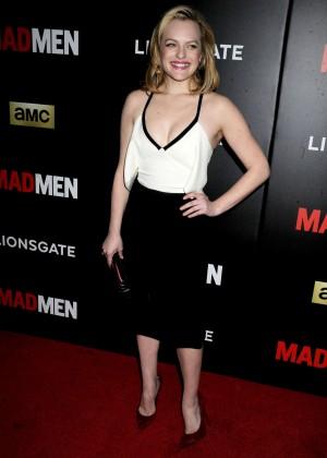 Elisabeth Moss - AMC Mad Men Black & Red Ball in LA