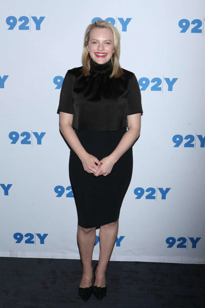 Elisabeth Moss at The Handmaids Tale TV Show Screening in NY -02