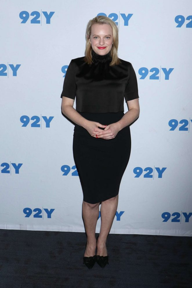 Elisabeth Moss at The Handmaids Tale TV Show Screening in NY -07