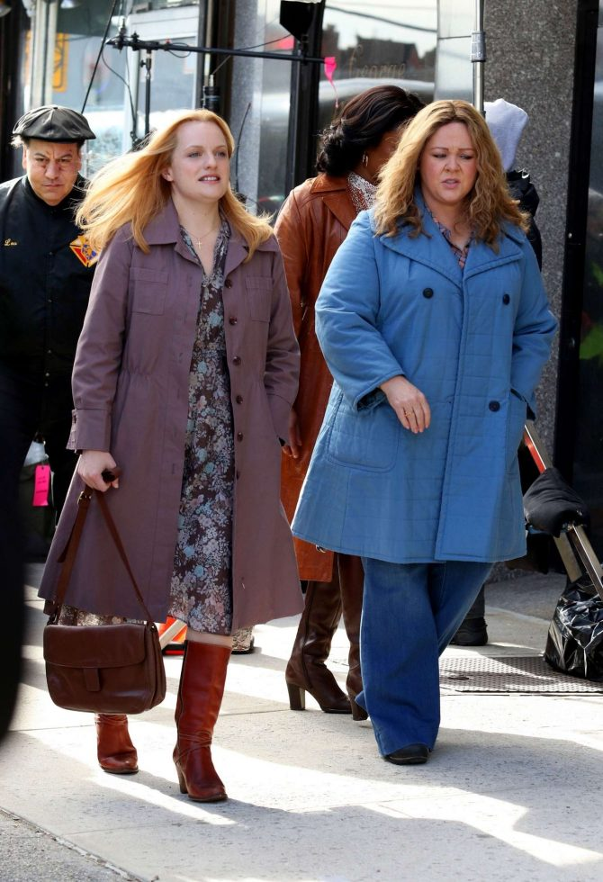 Elisabeth Moss Filming The Kitchen In New York 08 Gotceleb