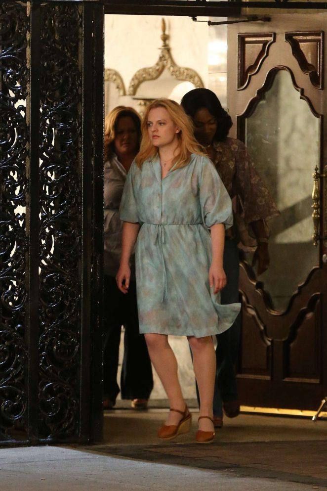 Elisabeth Moss: Films scenes for The Kitchen -04