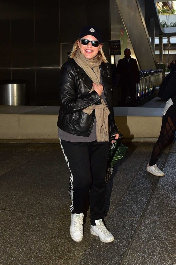 Elisabeth Moss - Is seen at LAX