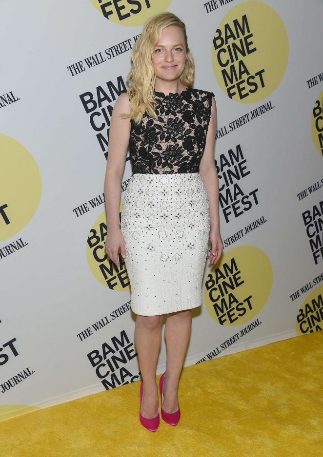 Elisabeth Moss - 'Queen Of Earth' Premiere in NYC