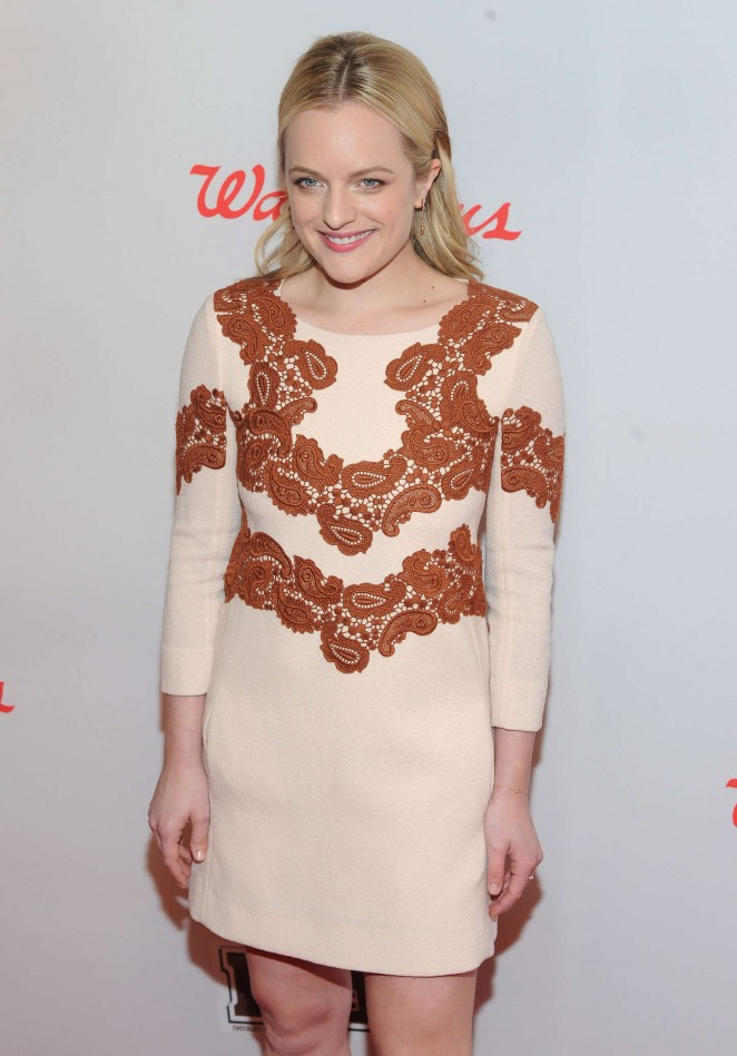 Elisabeth Moss - Red Nose Day Charity Event in NYC