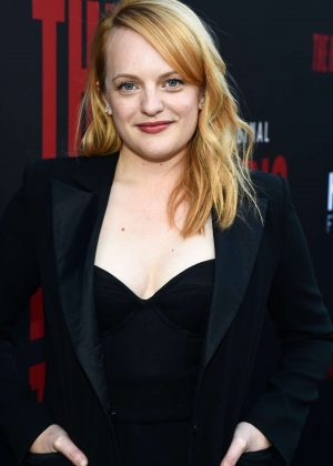 Elisabeth Moss - 'The Handmaid's Tale' TV Show Finale in Los Angeles