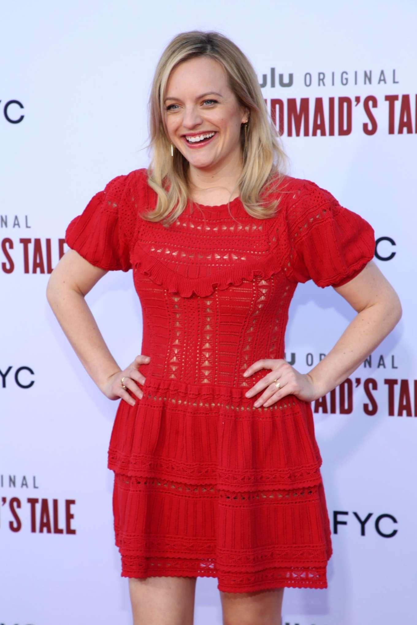 Elisabeth Moss - The Hulu's 'The Handmaid's Tale' Season 3 Finale in Westwood