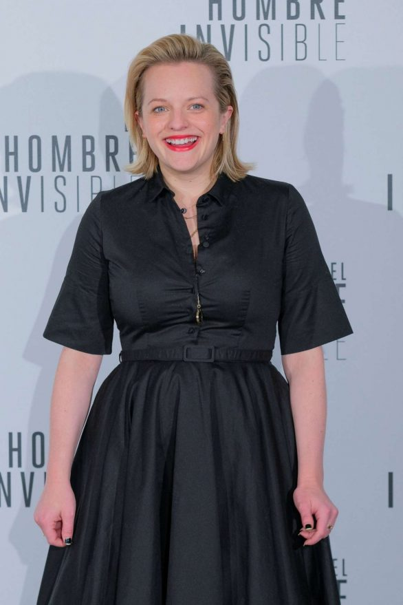 Elisabeth Moss - The Invisible Man photocall in Madrid