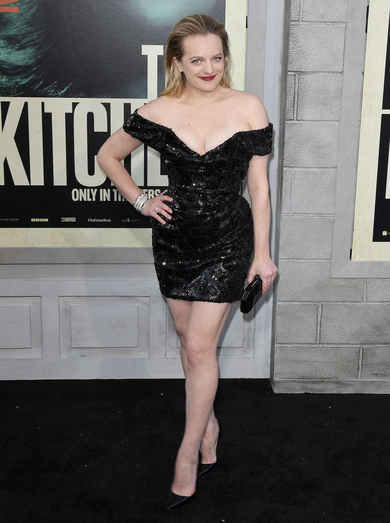 Elisabeth Moss - 'The Kitchen' Premiere in Los Angeles