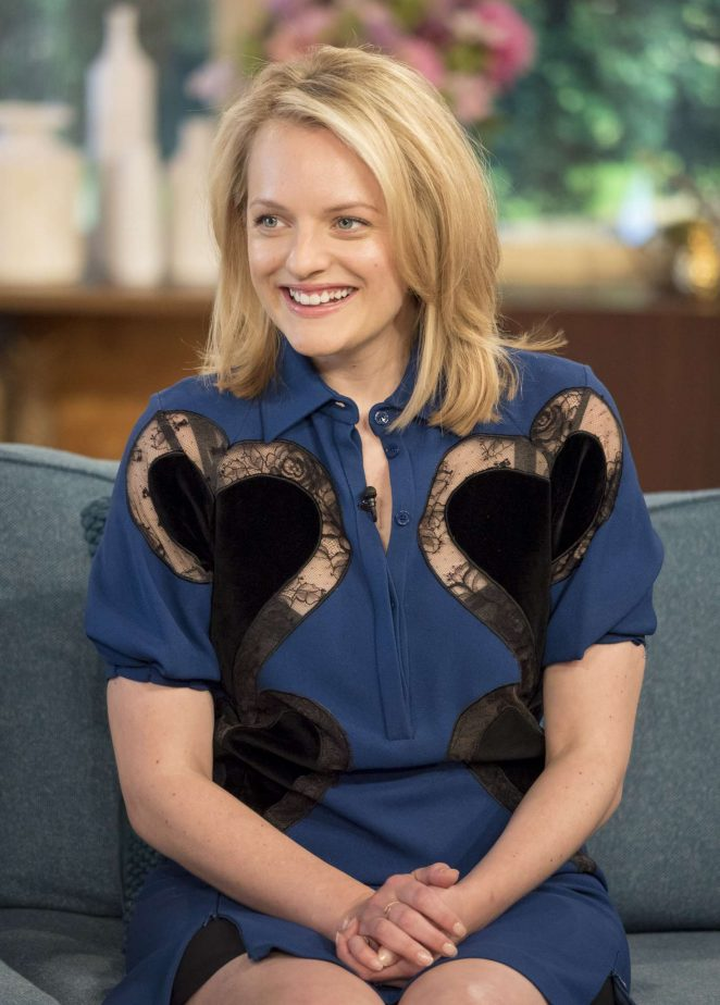 Elisabeth Moss - 'This Morning' TV Show in London