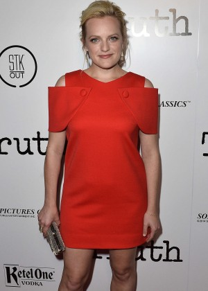Elisabeth Moss - 'Truth' Premiere in Los Angeles