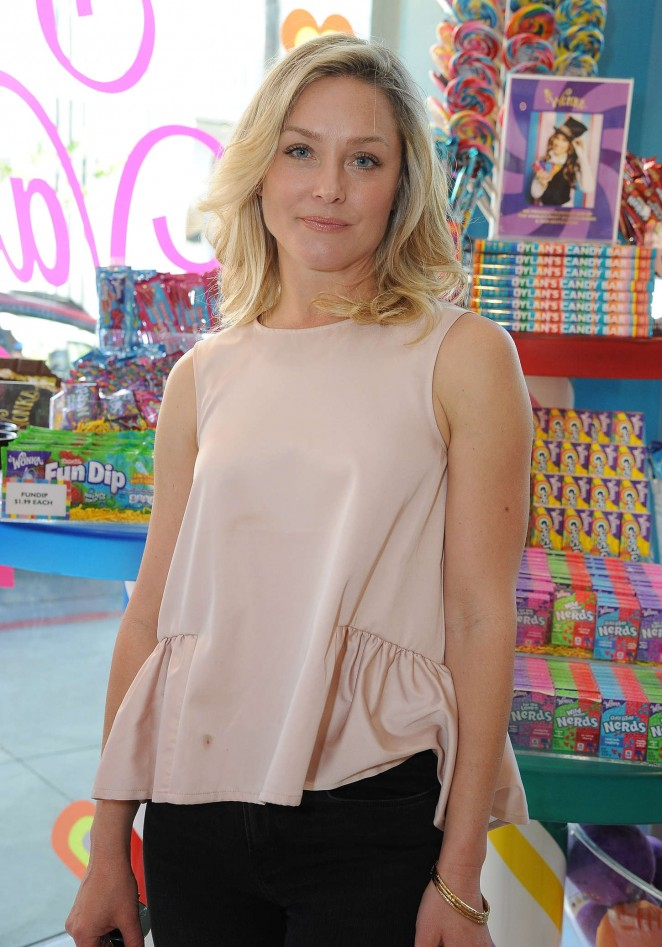 Elisabeth Rohm - Dylan's Candy Bar in LA