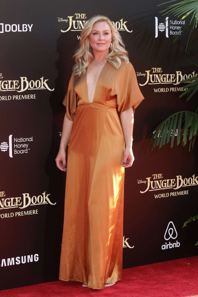 Elisabeth Rohm - 'The Jungle Book' Premiere in Hollywood