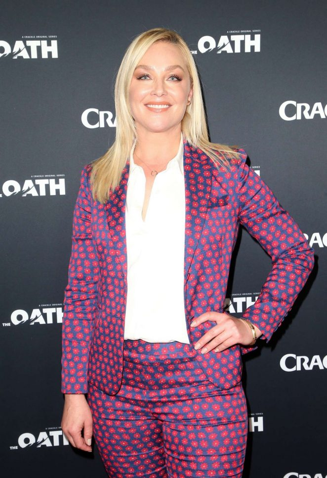 Elisabeth Rohm - 'The Oath' at 2018 Winter TCA in Pasadena