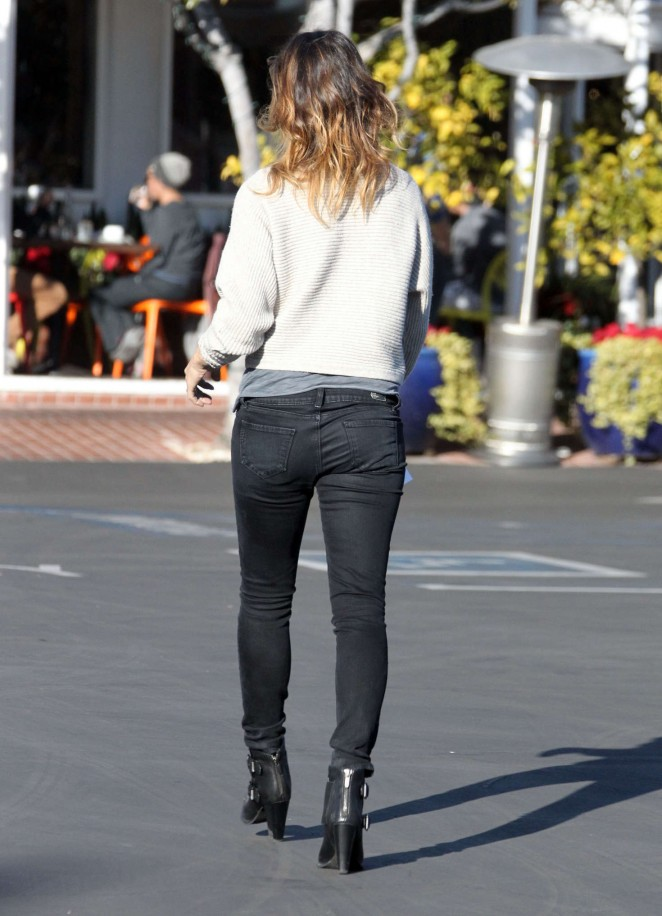 Elisabetta Canalis at Fred Segals Boutique in West Hollywood