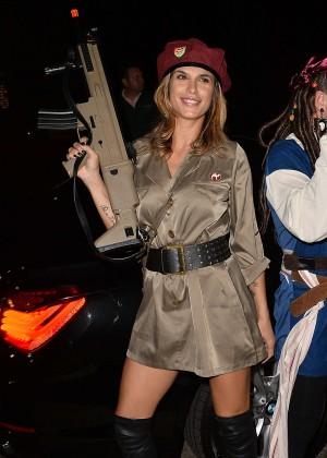 Elisabetta Canalis - Casa Tequila Halloween Party in Beverly Hills
