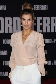 Elisabetta Canalis - 'Ford v Ferrari' Premiere in Los Angeles