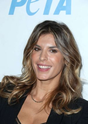 Elisabetta Canalis - Launch Opening Night of PETA's 'Naked Ambition' Exhibit in LA