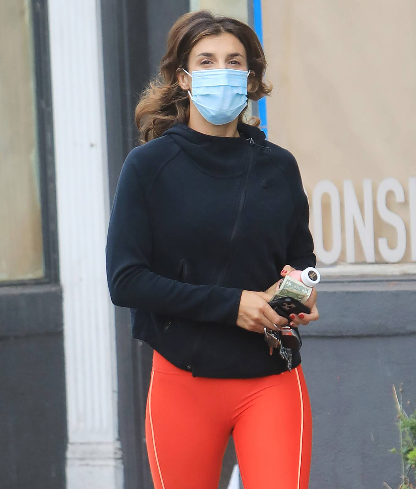 Elisabetta Canalis out in Los Angeles