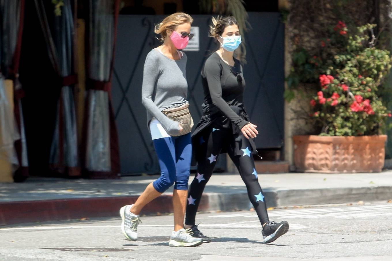 Elisabetta Canalis 2020 : Elisabetta Canalis – Out walking in Beverly Hills-02