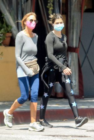 Elisabetta Canalis - Out walking in Beverly Hills