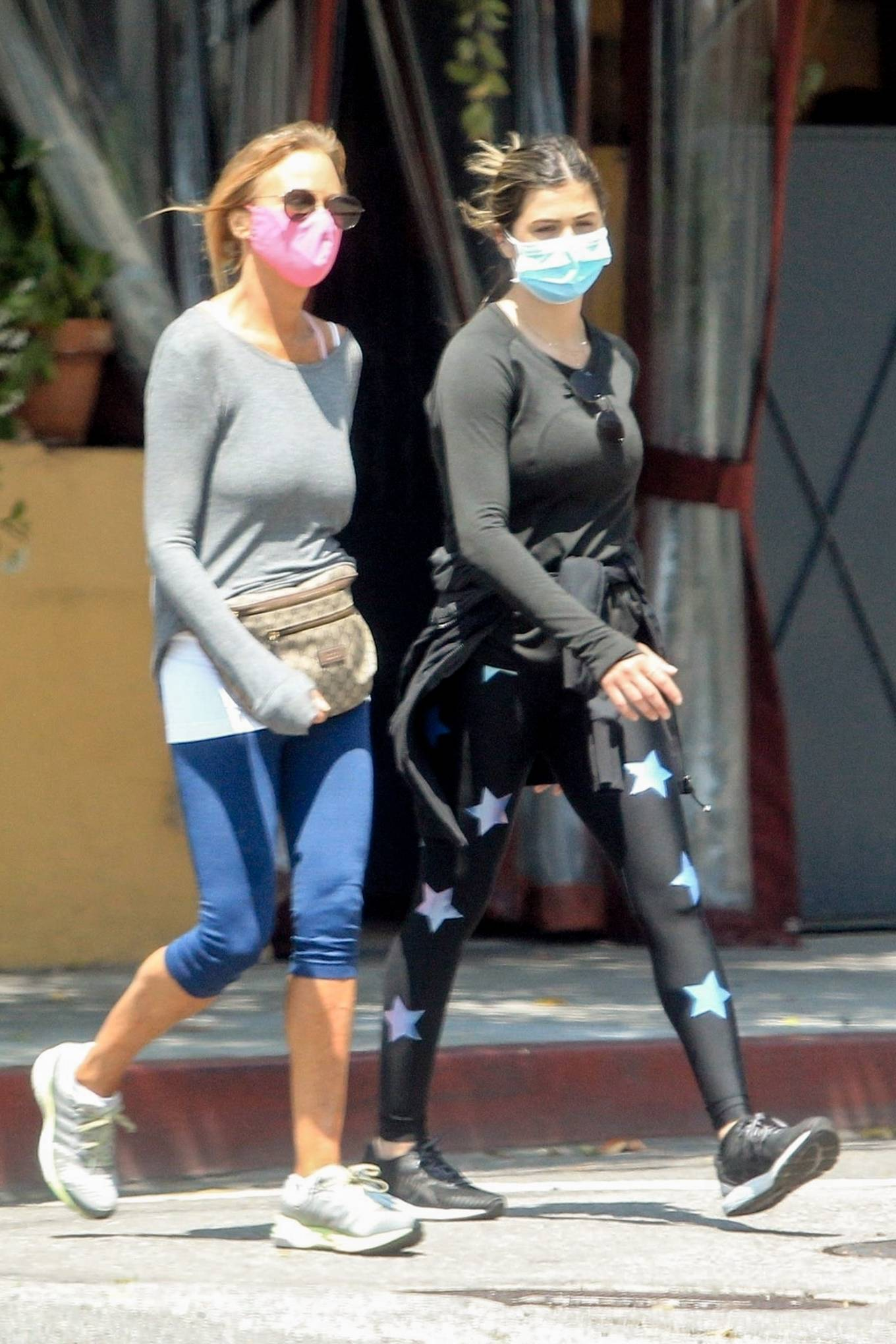 Elisabetta Canalis 2020 : Elisabetta Canalis – Out walking in Beverly Hills-03