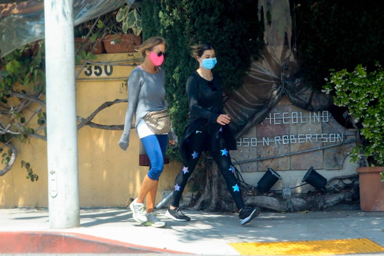 Elisabetta Canalis 2020 : Elisabetta Canalis – Out walking in Beverly Hills-04