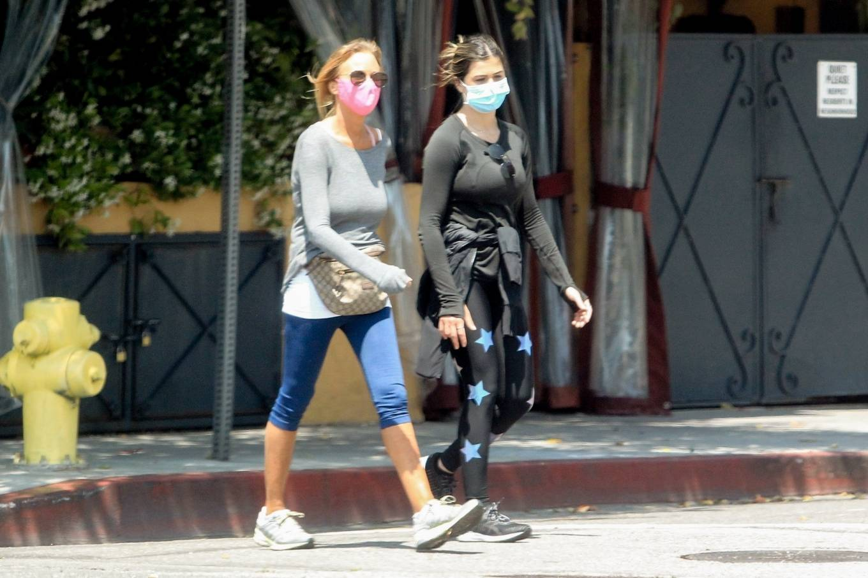 Elisabetta Canalis 2020 : Elisabetta Canalis – Out walking in Beverly Hills-05