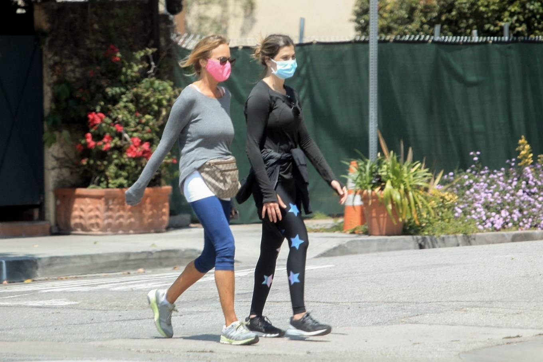 Elisabetta Canalis 2020 : Elisabetta Canalis – Out walking in Beverly Hills-06