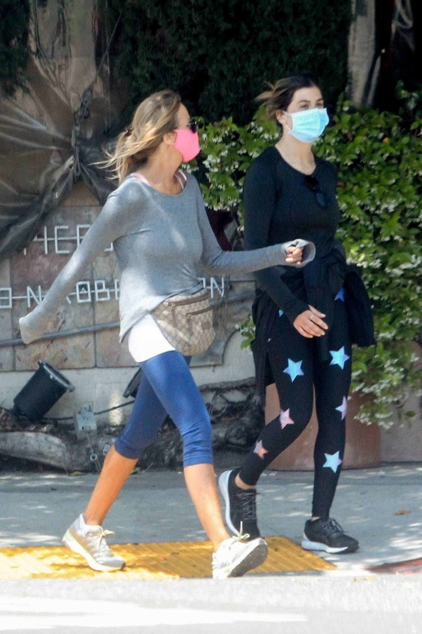 Elisabetta Canalis 2020 : Elisabetta Canalis – Out walking in Beverly Hills-07