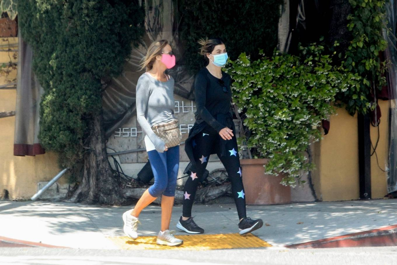Elisabetta Canalis 2020 : Elisabetta Canalis – Out walking in Beverly Hills-11