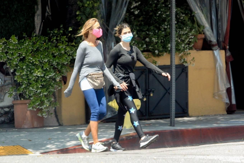 Elisabetta Canalis 2020 : Elisabetta Canalis – Out walking in Beverly Hills-13