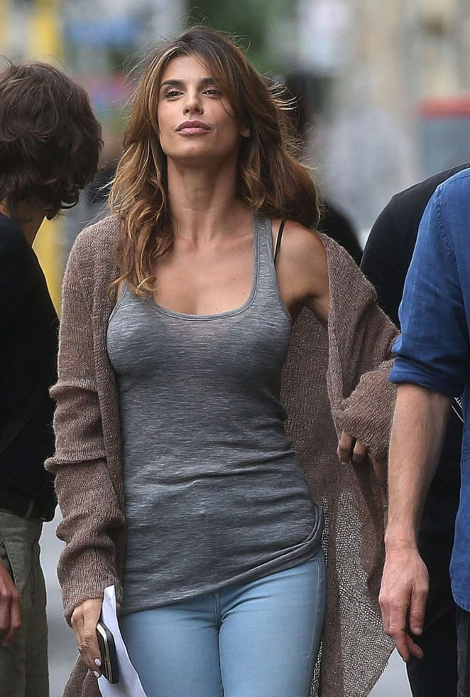 Elisabetta Canalis - Photoshoot In Milan