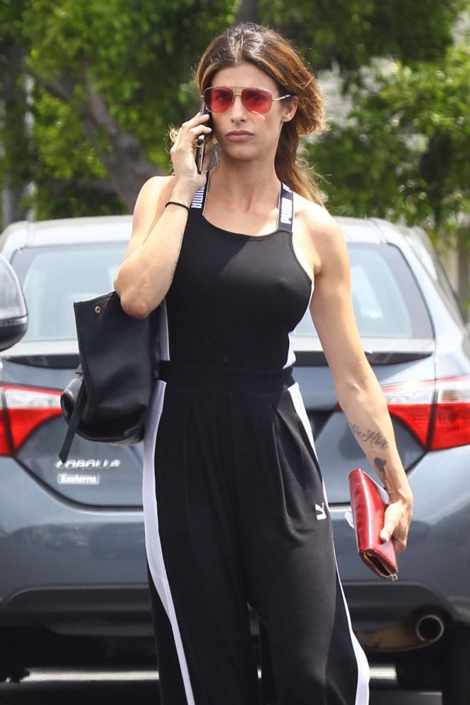 Elisabetta Canalis - Shopping at Fred Segal in West Hollywood