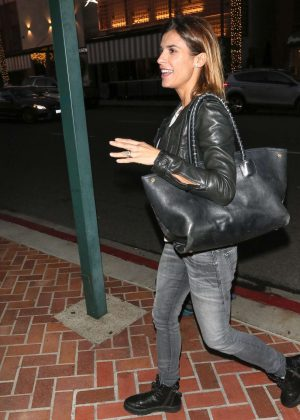 Elisabetta Canalis - Shopping in Beverly Hills