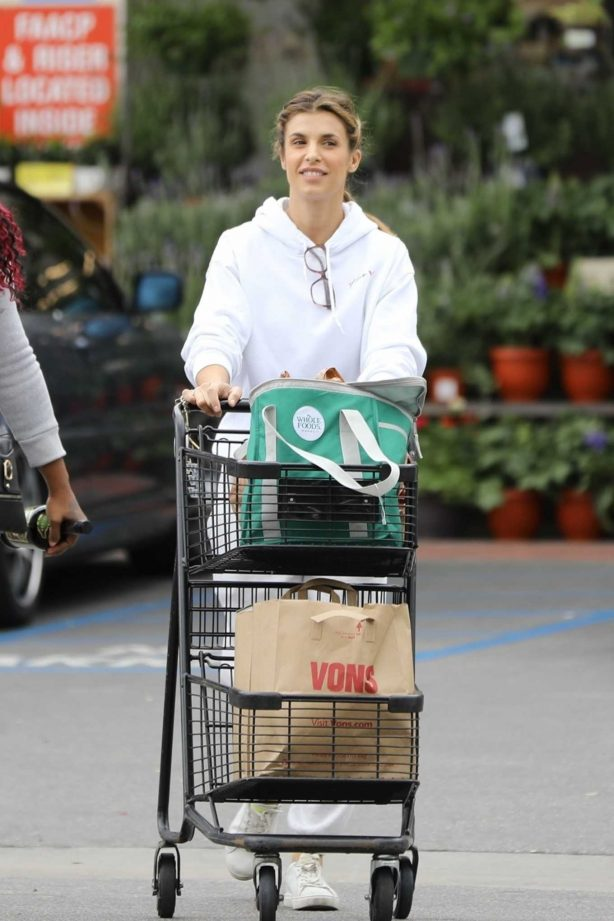 Elisabetta Canalis - Shopping in Los Angeles