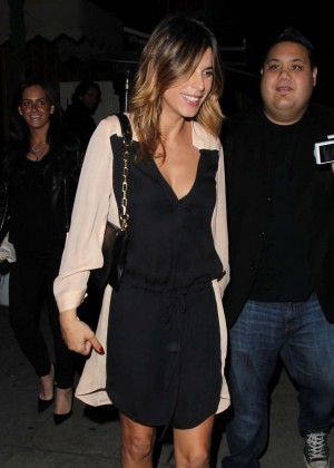 Elisabetta Canalis - The Nice Guy Club in West Hollywood