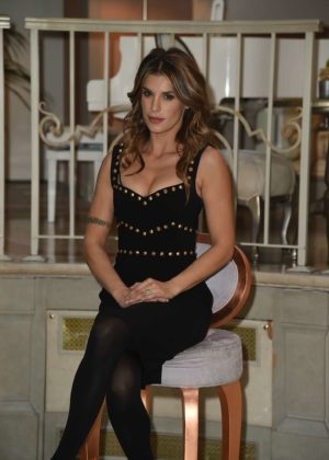 Elisabetta Canalis - TV show 'Le spose di Costantino' Photocall in Milan