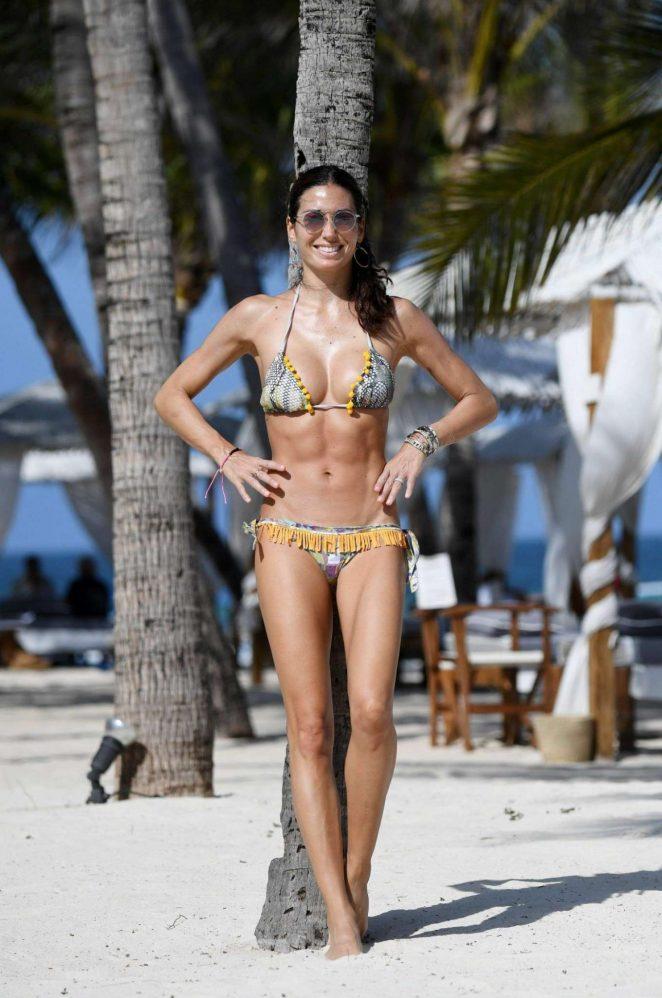 Elisabetta Gregoraci in Bikini in Kenya