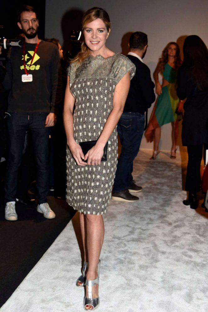 Elisabetta Pelini - Laura Biagiotti Fashion Show 2018 in Milan