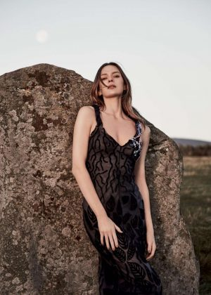 Elise Crombez for Harper's Bazaar Magazine (April 2017)