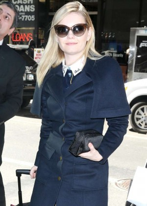 Elisha Cuthbert - Arrives at Today Show in New York