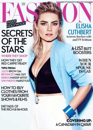 Elisha Cuthbert - Fashion Magazine (April 2015)