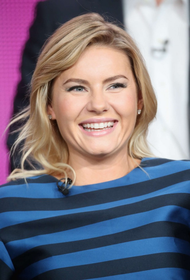 "Elisha Cuthbert - ""One Big Happy"" Panel TCA Press Tour in Pasadena"
